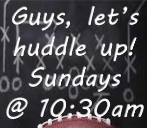 Mens Huddle